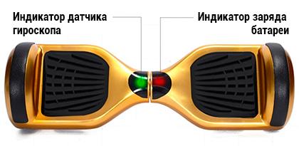 Датчики гироскутера