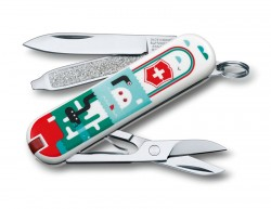 "Нож-брелок VICTORINOX Classic ""Sea World"", 58 мм, 7 функций"