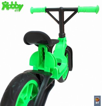 ОР503 Беговел Hobby bike Magestic kiwi black