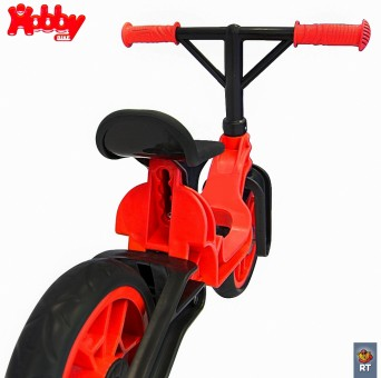 ОР503 Беговел Hobby bike Magestic red black