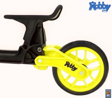 ОР503 Беговел Hobby bike Magestic yellow black