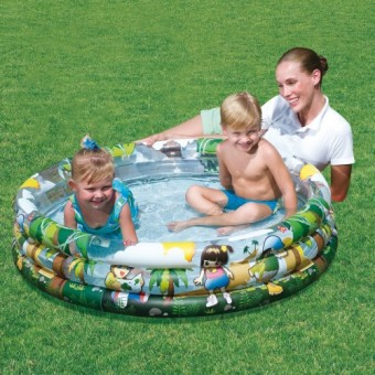 Бассейн детский Bestway, Jungle Trek Pool, от 3-х лет, 122х25см, 51040b 12