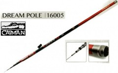 Удилище Caiman Dream Pole IM6 без колец 5,0м. вес 260гр. - 10-30g,