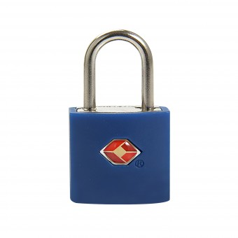 Замок навесной для багажа Travel Blue TSA High Security Lock, цвет синий