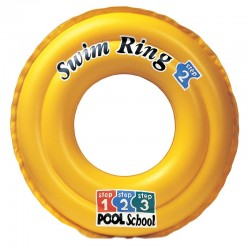 Надувной круг INTEX Deluxe Swim Ring Pool School Step 2 58231NP