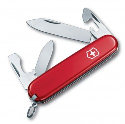 Нож перочинный VICTORINOX Recruit, 84 мм, 10 функций, красный
